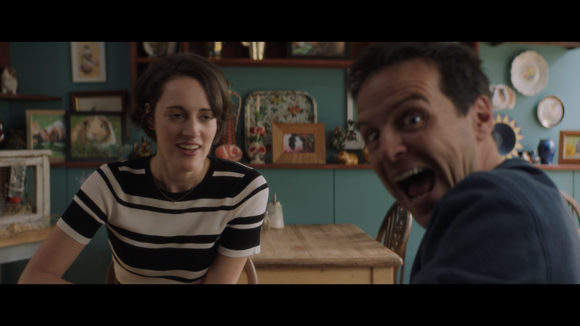 TV Moments, In Fleabag, when the Priest senses Fleabag breaking the fourth wall and decides to do it as well.